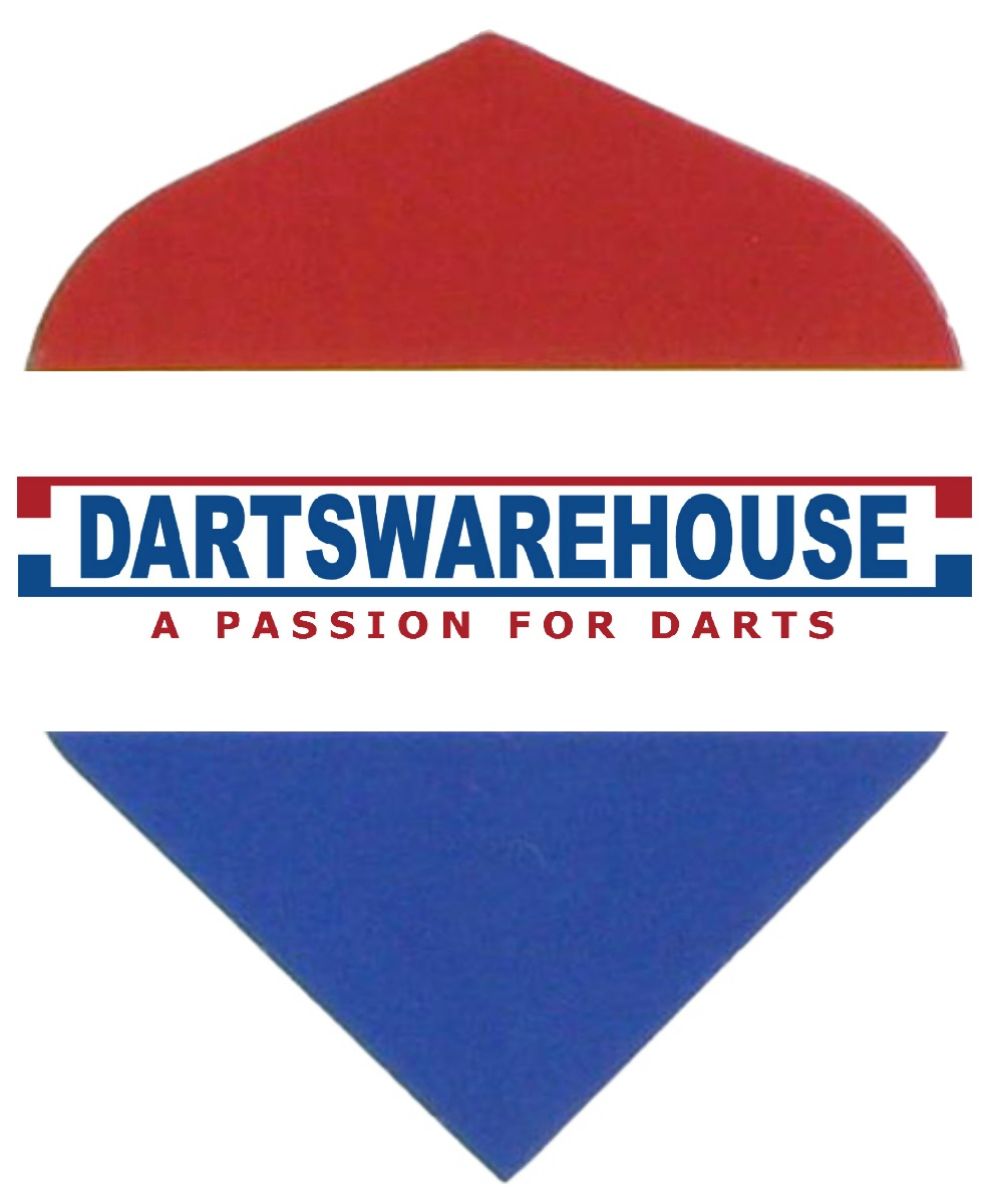 Darts Warehouse Dartflights in de standaard vorm